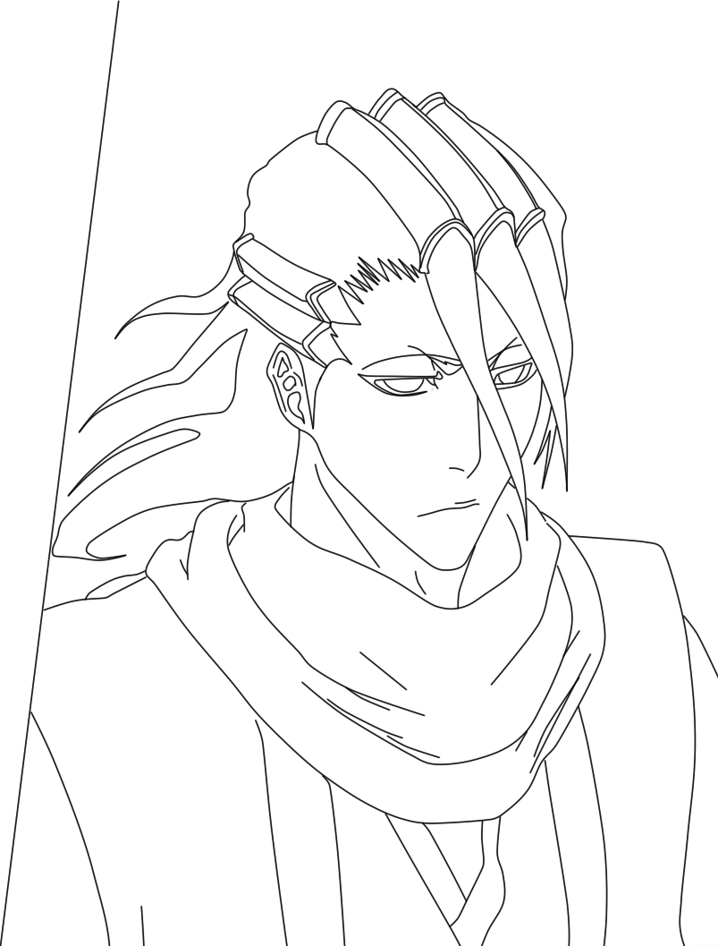 bleach coloring book pages - photo#9