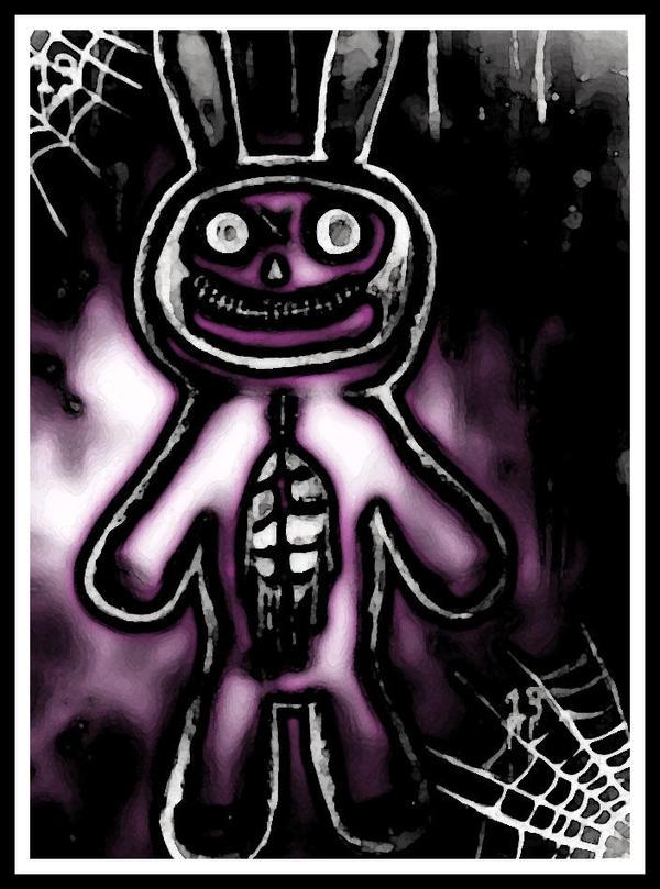 rabbit that haunts me by halloweenkid