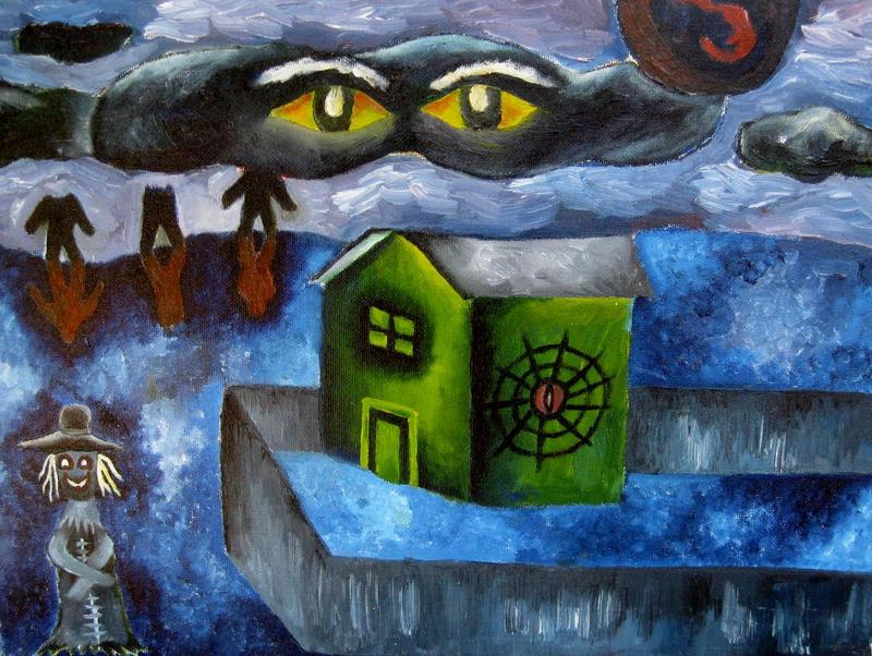 hangman's village by halloweenkid
