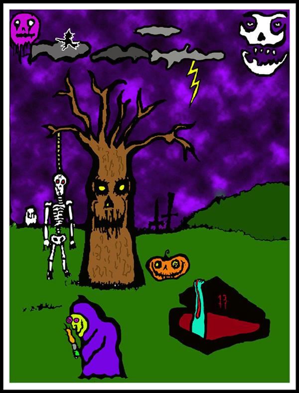 spooksville by halloweenkid