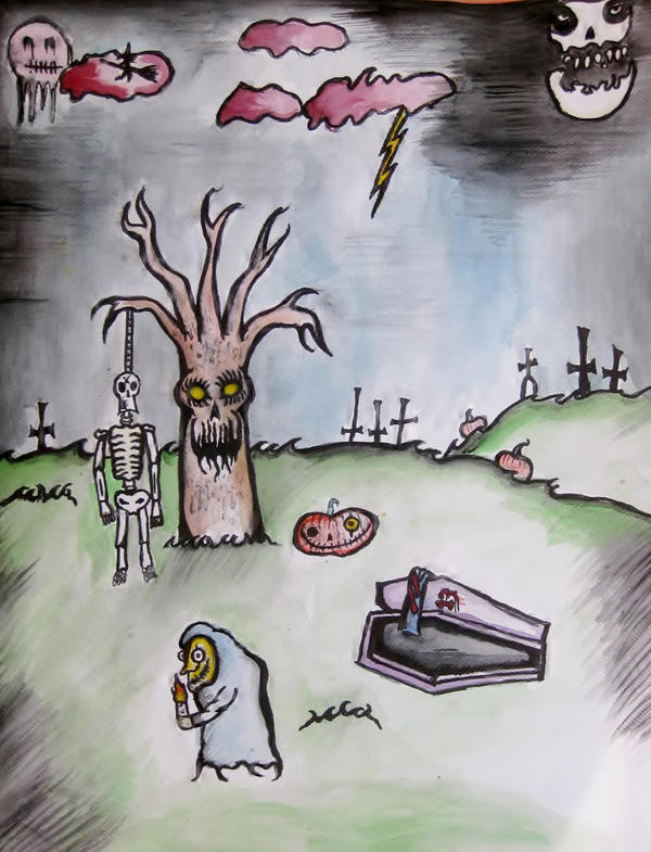 Holiday of sins by halloweenkid