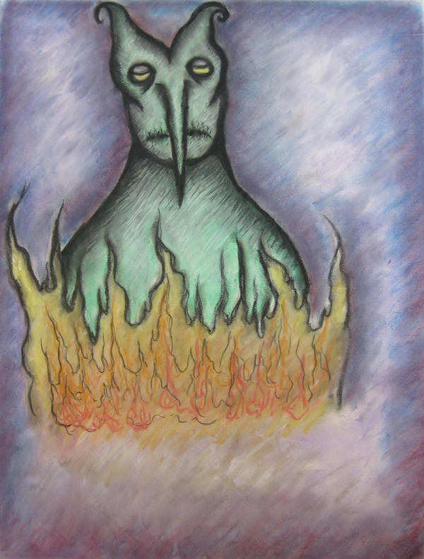 He who is born in flames II by halloweenkid