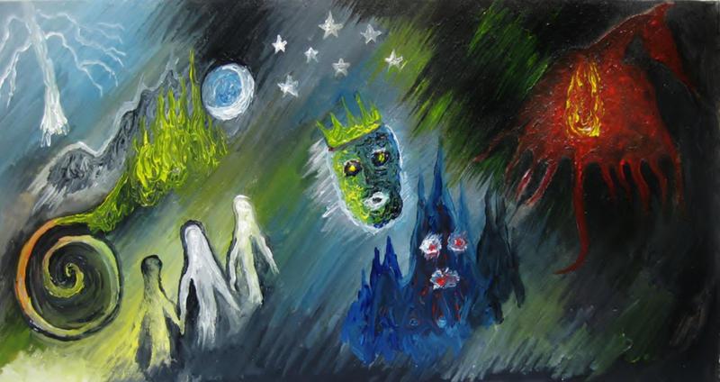 Dark Castle by halloweenkid
