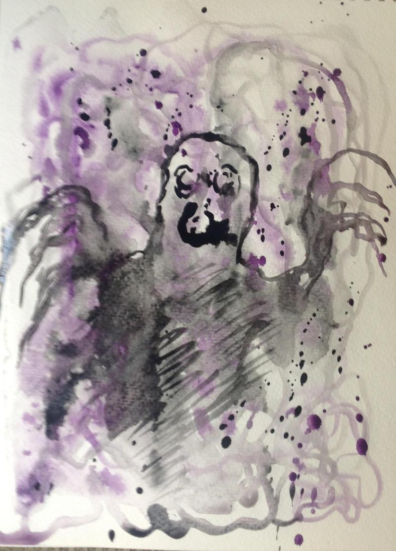wings of torment by halloweenkid