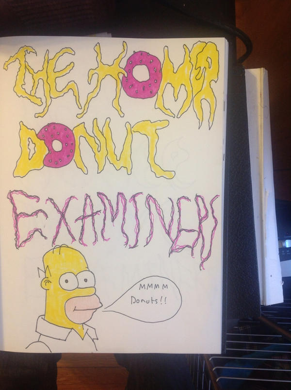 The homer donut examiners by halloweenkid