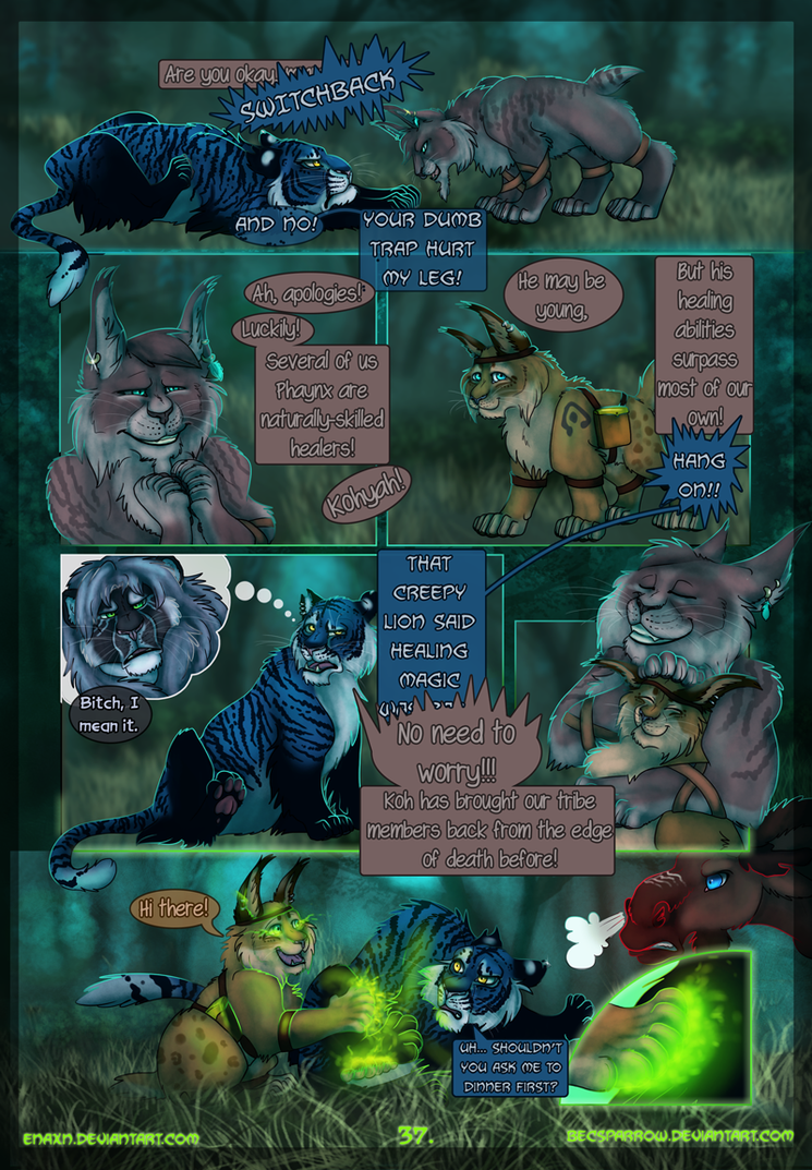 The Last Aysse: Page 37 by Enaxn