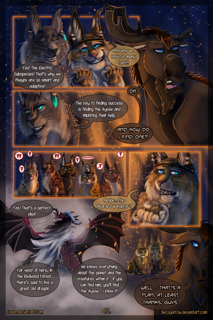 The Last Aysse: Page 45 by Enaxn