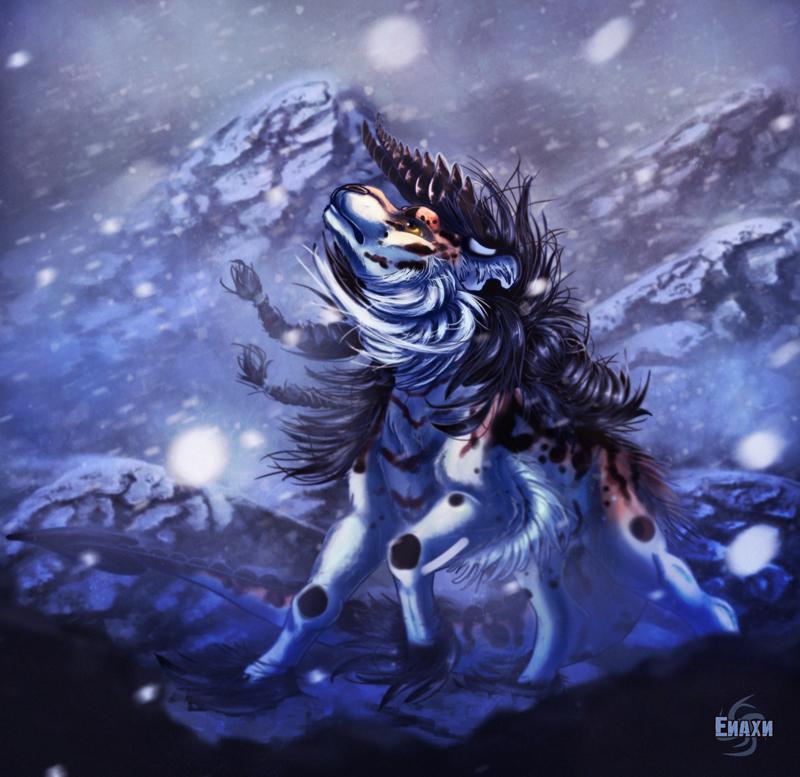 Blue by Enaxn
