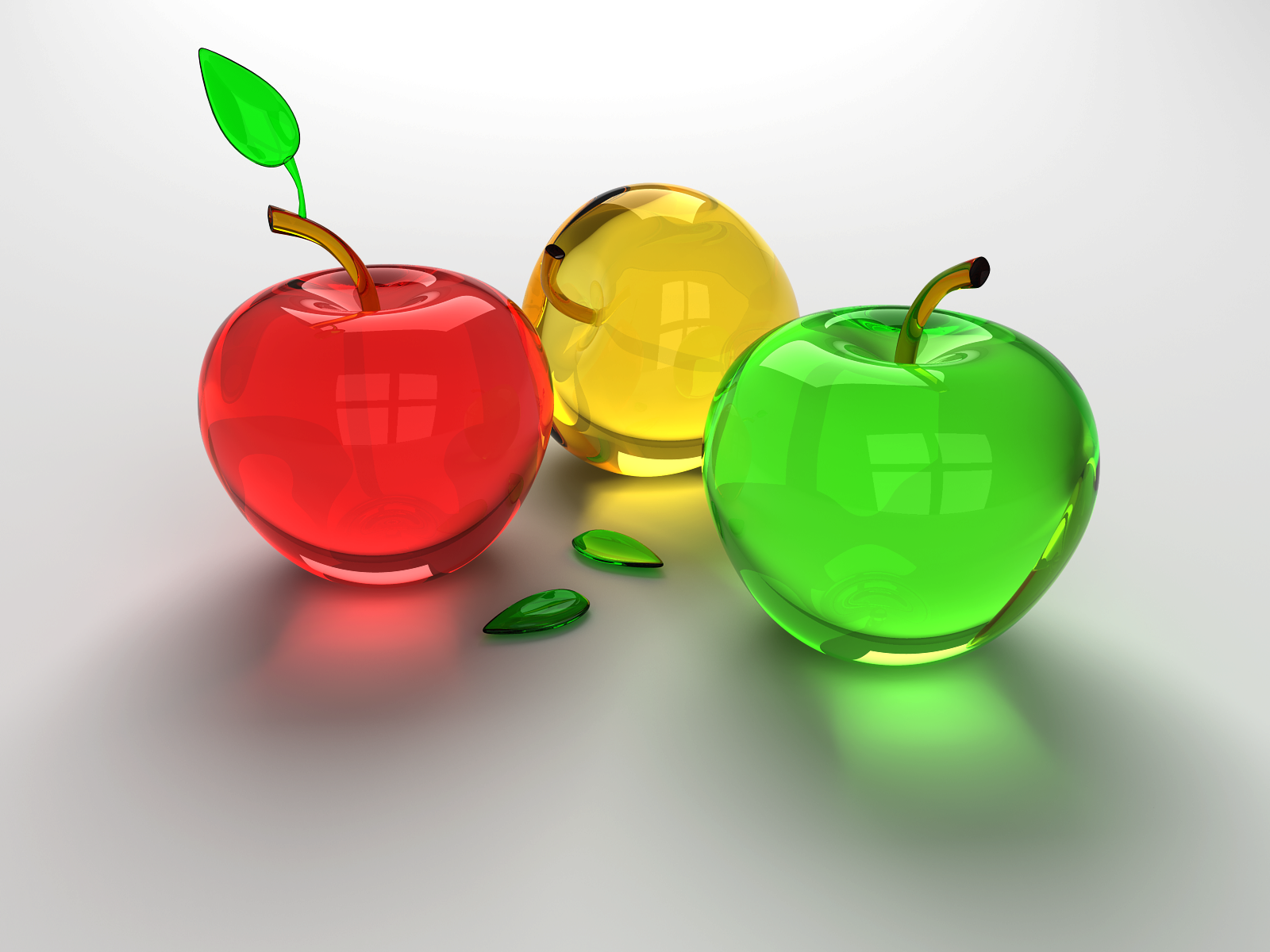 Glass Apples by Furumaru