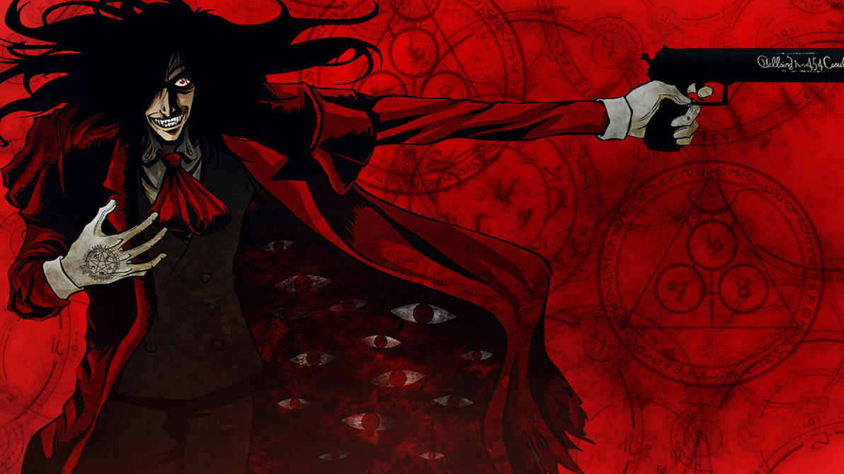 Alucard wallpaper by dnot san on deviantart - Anime hellsing wallpaper ...