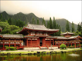 Byodo-In Temple by Hedemi