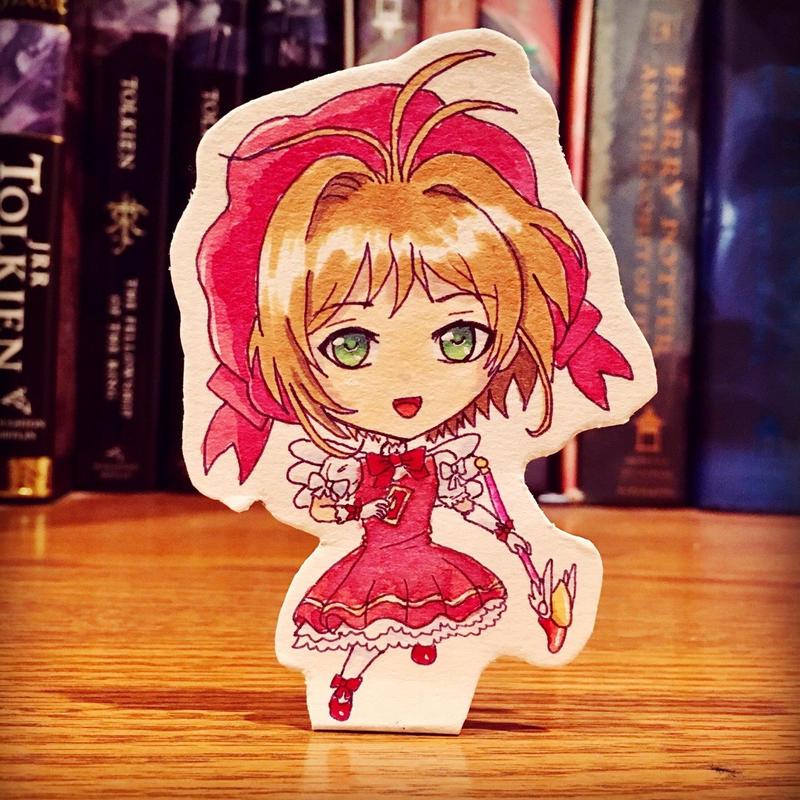 Chibi Sakura by Hedemi
