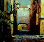 Night Walk In Old Town