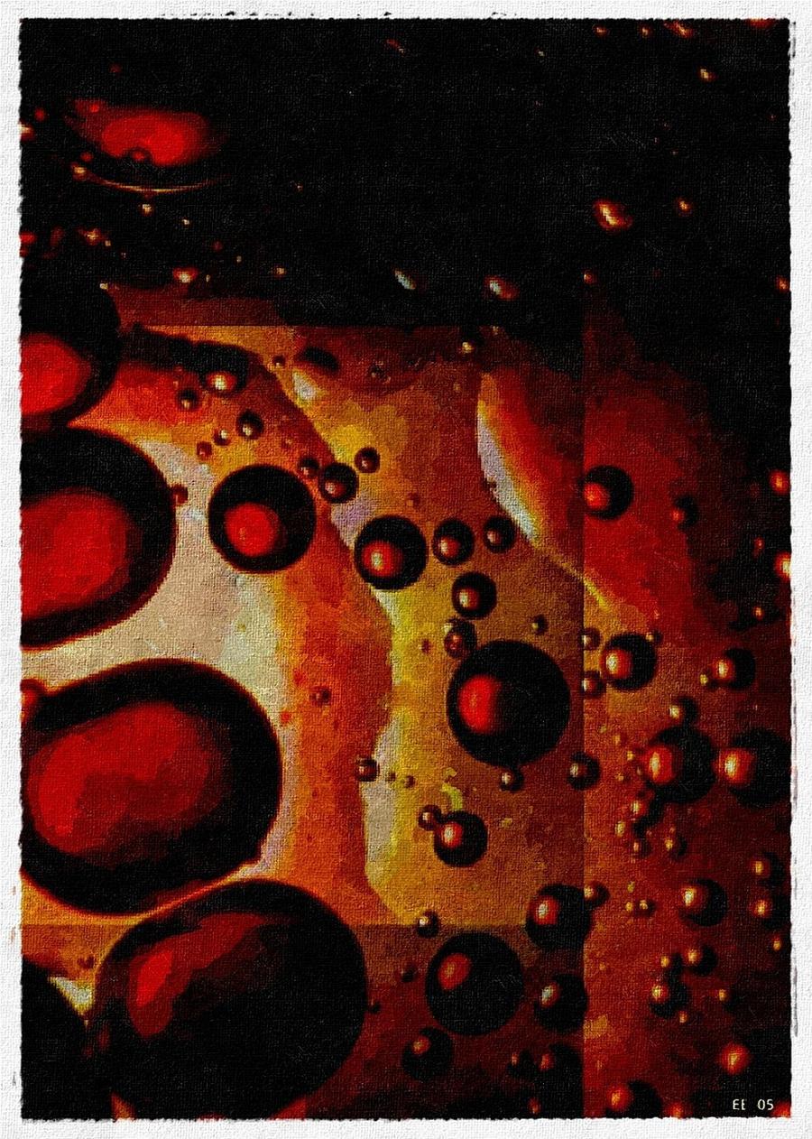 Fruit Coctail Impasto Work2005 by eskile