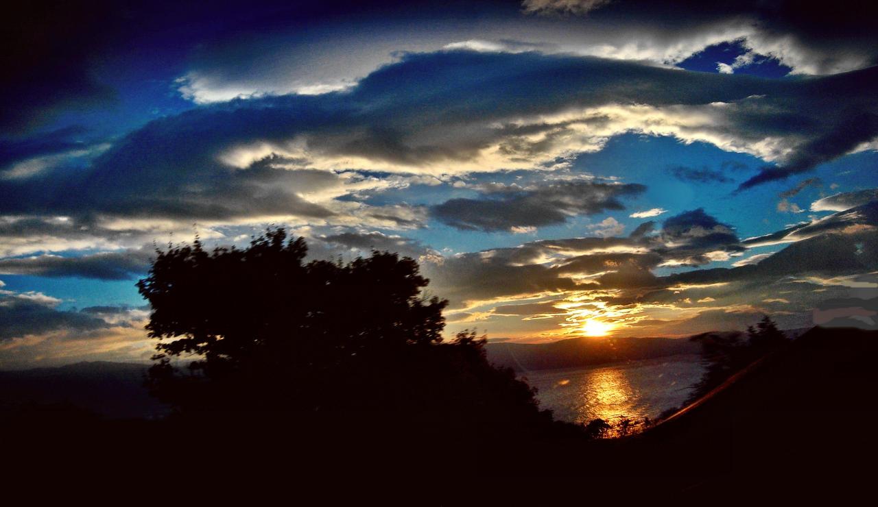 November 3st Sunrise In Arcipelago by eskile
