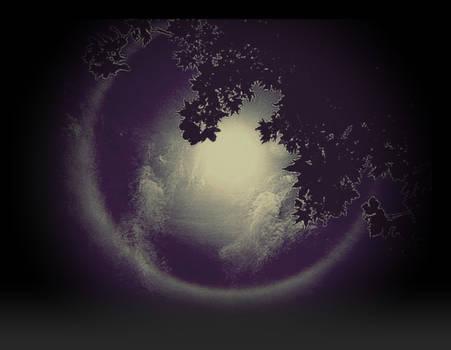 Super Moon June 22st In Archipelago Night  by eskile