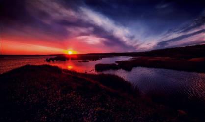 Magic Sundown July 22st In Archpelago  by eskile