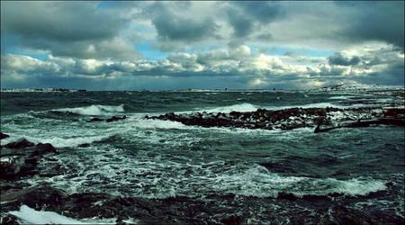 Yesterdays Storm On  November 5 In Archipelago by eskile