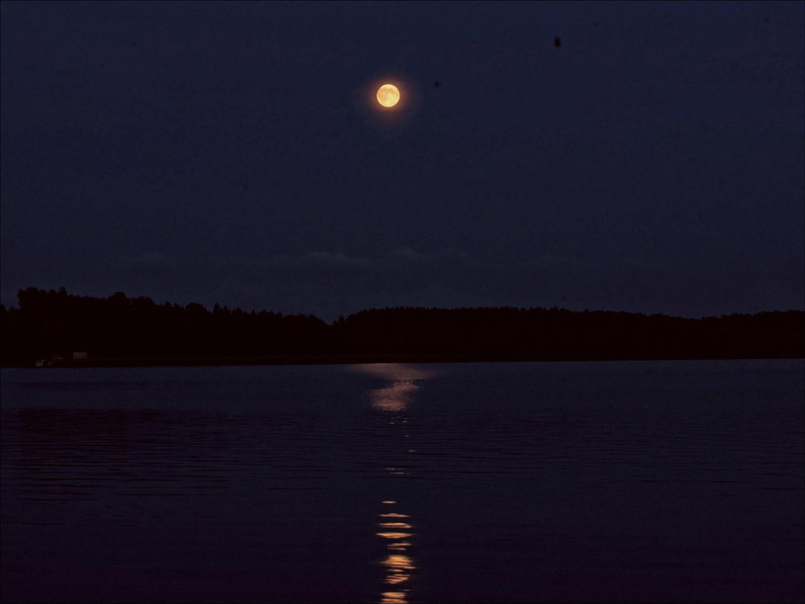 Supermoon In The Archipelago On August 9  by eskile