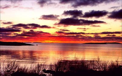 A Beautyful Daybreak On October 30 In The Archipel by eskile