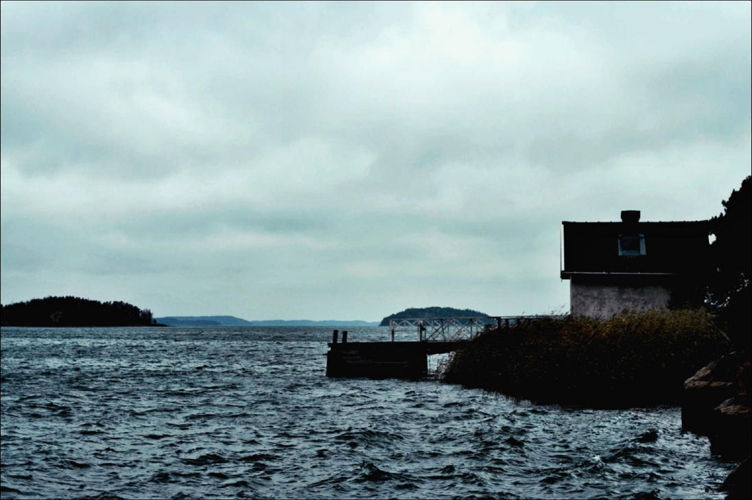A Rainy Afternoon In The Archipelago On December 1 by eskile