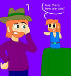 Chuck Norris and Chibi