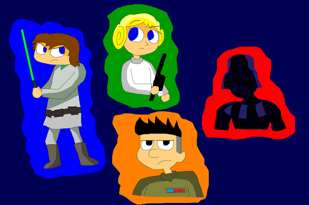 Kick Buttowski Star Wars - Luke Company by TXToonGuy1037 ...