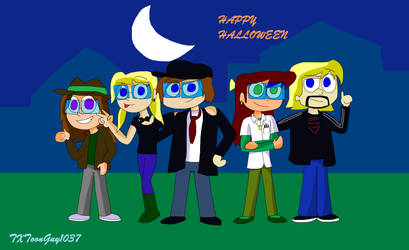 Kick Buttowski Freaky Geeky Halloween by TXToonGuy1037