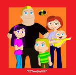 The Incredibles 2 - The Parr Family