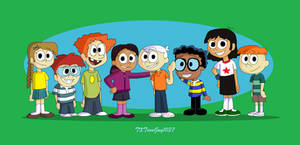 The Loud House - Lincoln and his friends