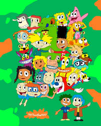 Nicktoons - Good ol Nickelodeon - 90s by TXToonGuy1037