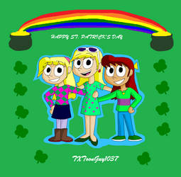 The Loud House - St Patricks Day by TXToonGuy1037