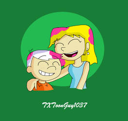 The Loud House - Cotton Candy Hair by TXToonGuy1037