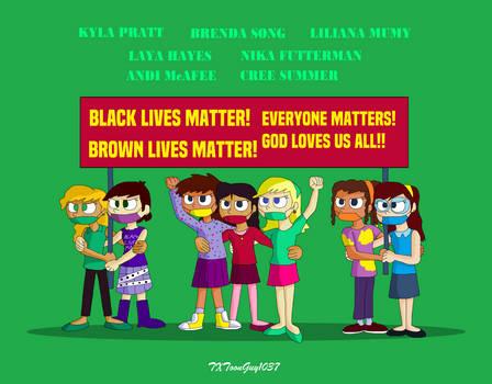 Animated Girls Unite - All Lives Matter