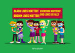 Animated Girls Unite - All Lives Matter by TXToonGuy1037