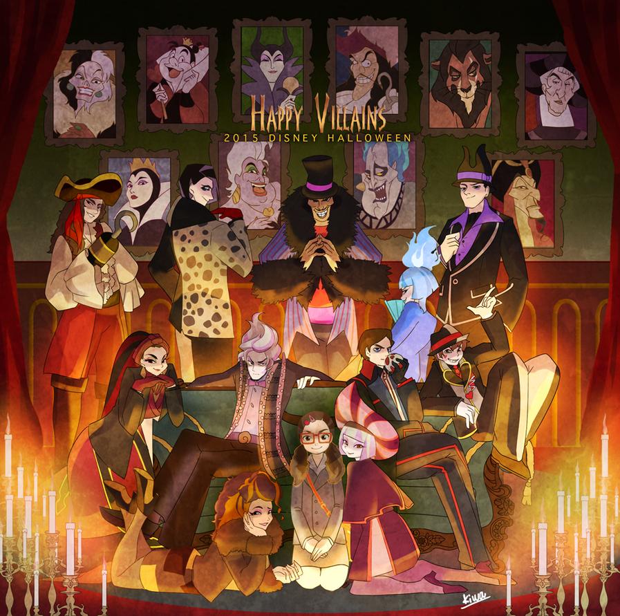 Villains recruiters by 07kiwa