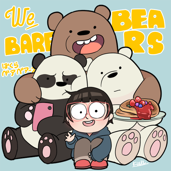 WE BARE BEARS by 07kiwa