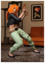Virtual Cosplay: Kim Possible
