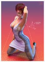 Triangulating Curves by REK-3D