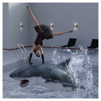 Jumping the Shark by REK-3D