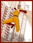 Virtual Cosplay: One Punch... Woman?