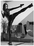 Virtual Cosplay: Emma Peel