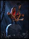 Virtual Cosplay: Vampirella by REK-3D