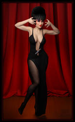 Virtual Cosplay: Elvira, Mistress of the Dark