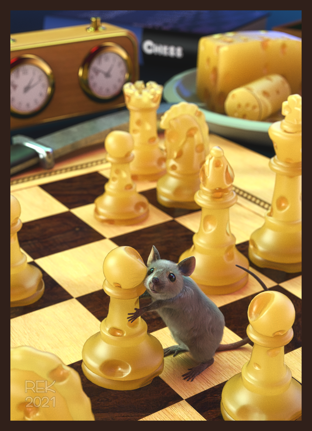 Chess or Cheese... Why not both?