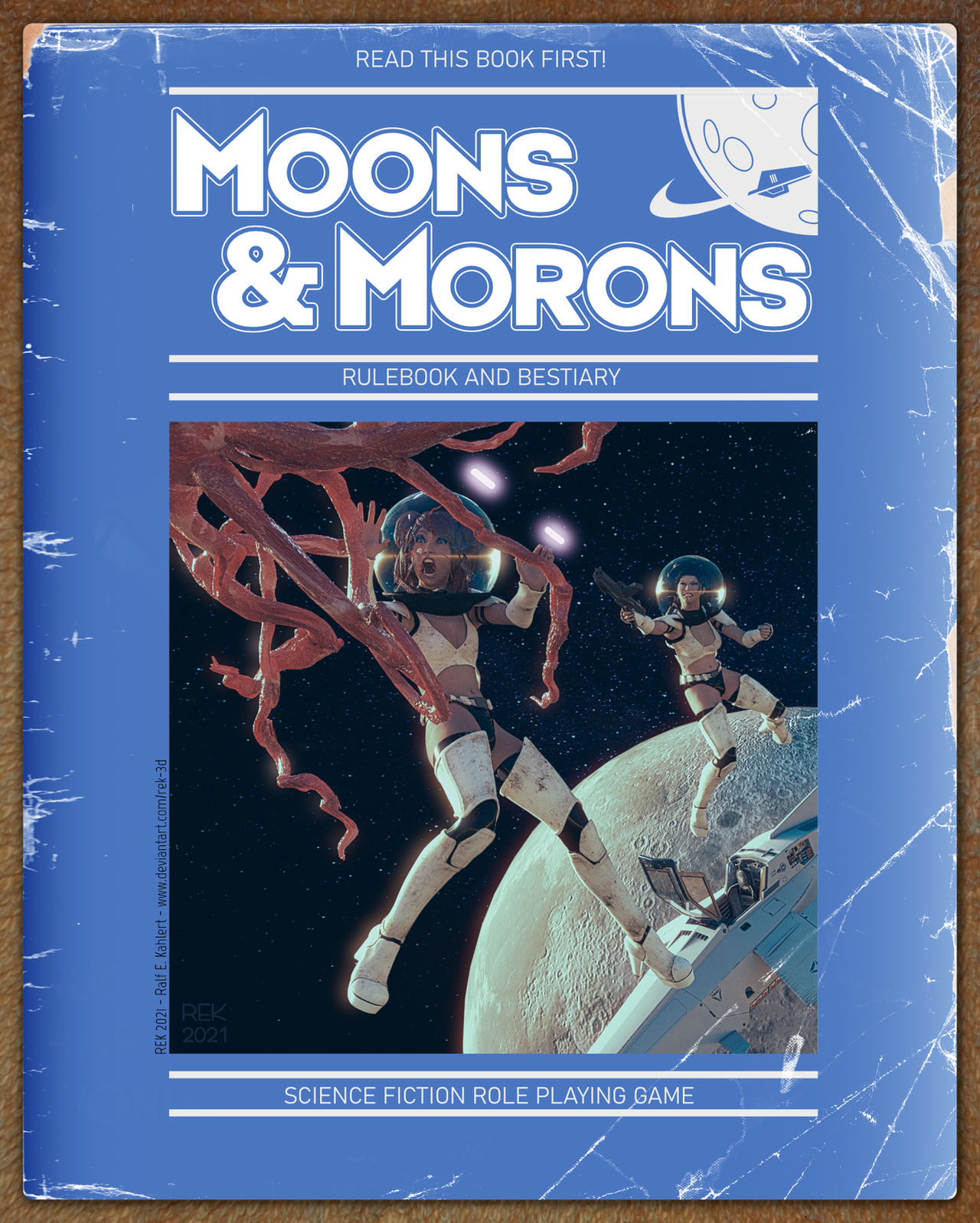 Moons and Morons RPG - First Edition Cover
