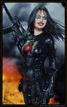 Virtual Cosplay: Baroness 01 by REK-3D
