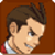 Apollo Justice happy - emoticon