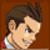 Apollo Justice happy - emoticon