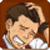Apollo Justice blushed - emoticon